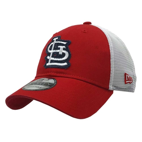ab7af306cc6 Shop New Era 2019 MLB St Louis Cardinals Baseball Cap Hat Truckered Frayed  Logo 940 - Free Shipping On Orders Over  45 - Overstock.com - 27341205