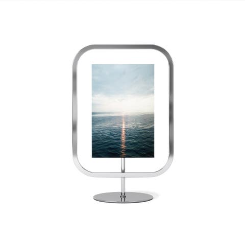 Infinity Sqround Photo Display 4X6 Chrome