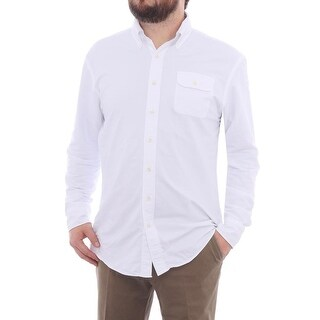 Gant The MB Perfect Oxford Long Sleeve Button Down Men Regular Casual