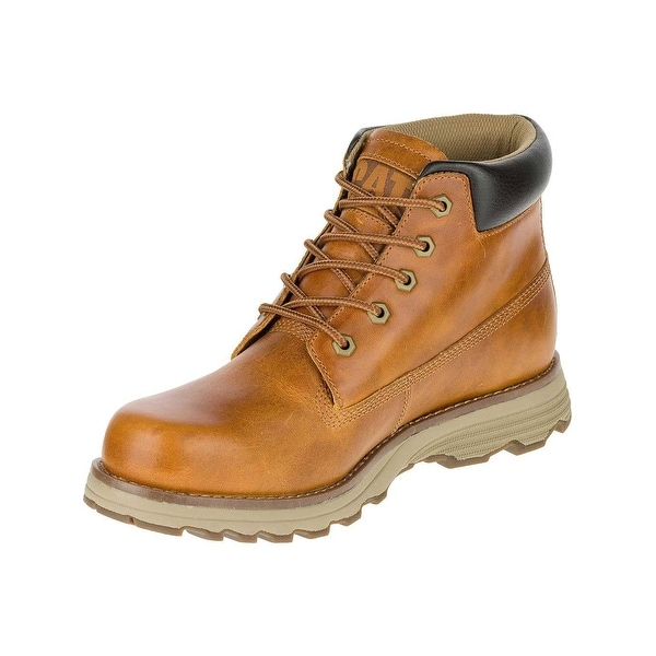 Caterpillar Mens Founder Boots in Artisan Gold