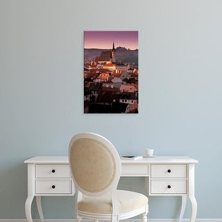 Easy Art Prints Walter Bibikow's 'Town View' Premium Canvas Art