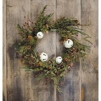 """Country Bell Pine Wreath - 20"""""""