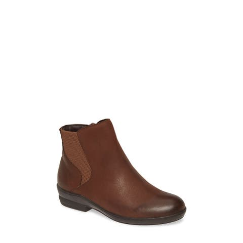 David Tate Womens torrey Leather Round Toe Ankle Fashion Boots