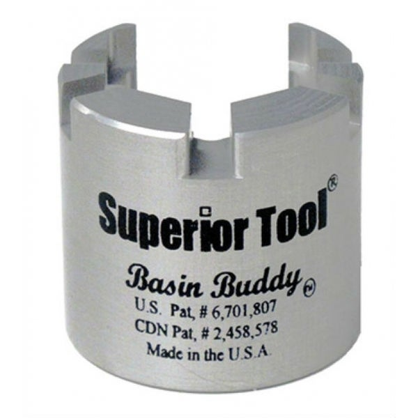 Superior Tool 03825 Basin Buddy Universal Faucet Nut Wrench