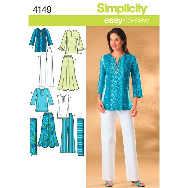Simplicity Misses And Womens Skirt, Pant-20W - 28W
