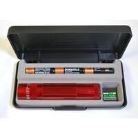 XL100 LED MagLite Flashlight - Red