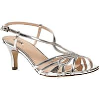 Pink Paradox London Women's Trinity Slingback Sandal Silver Synthetic