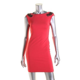 Zara Trafaluc Womens Embellished Party Cocktail Dress