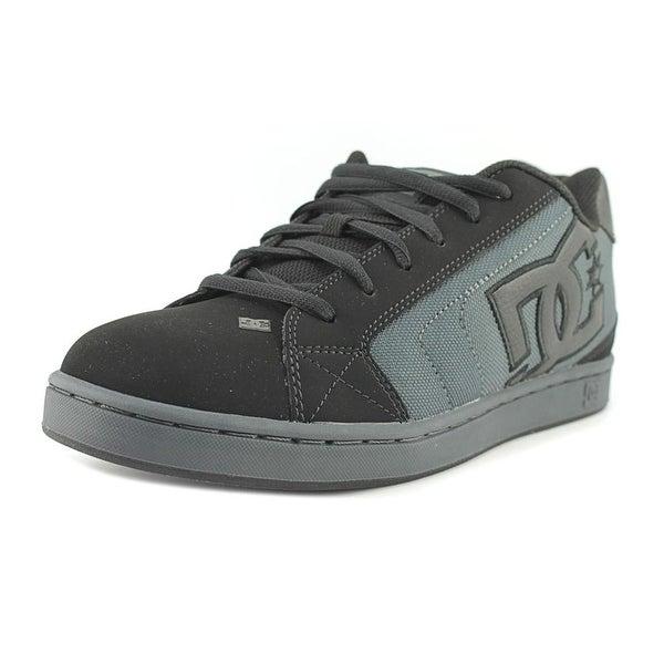 DC Shoes Net SE Men Round Toe Synthetic Black Skate Shoe