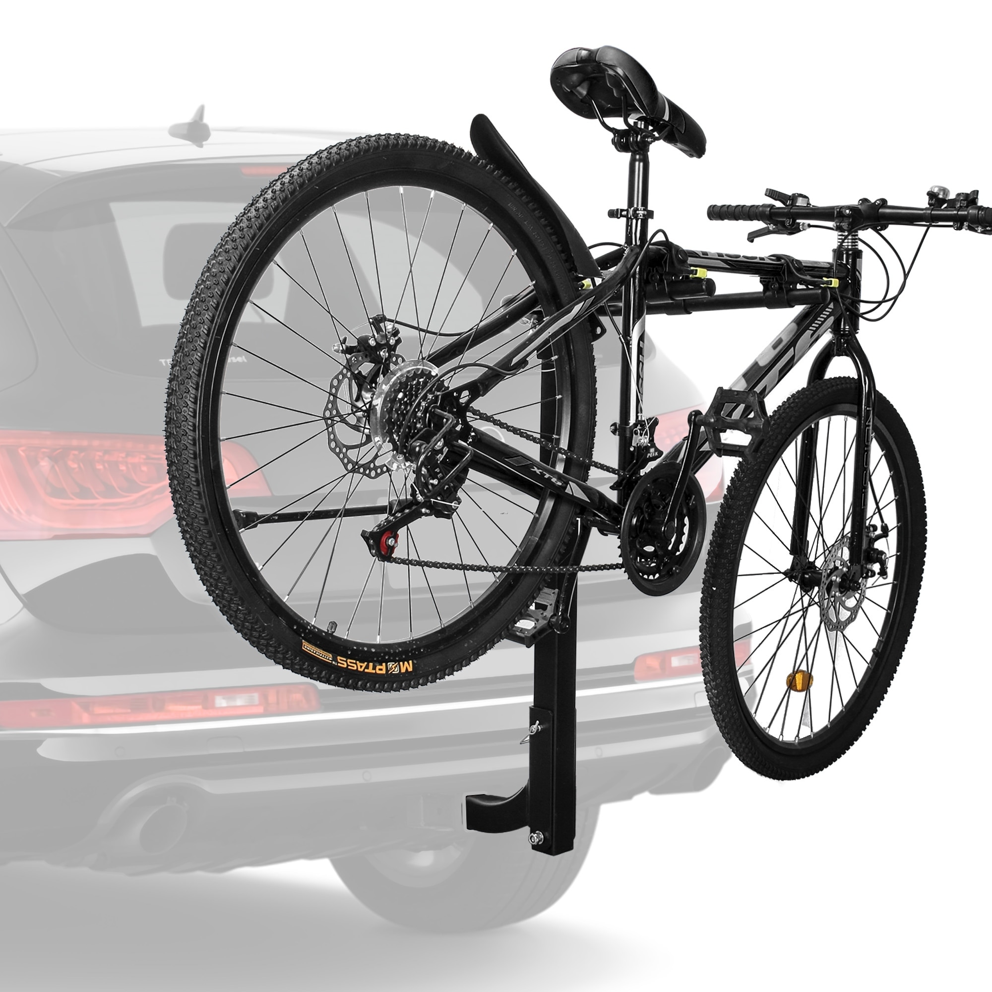 Bike Carrier Rack >> Avenn Premium 2 Bike Carrier Rack Hitch Mount Swing Down Bicycle Rack With 2 Inch Receiver