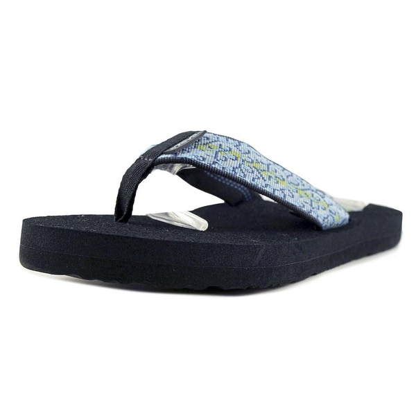 Teva Mush Beach Break Blue Women Open Toe Synthetic Blue Thong Sandal