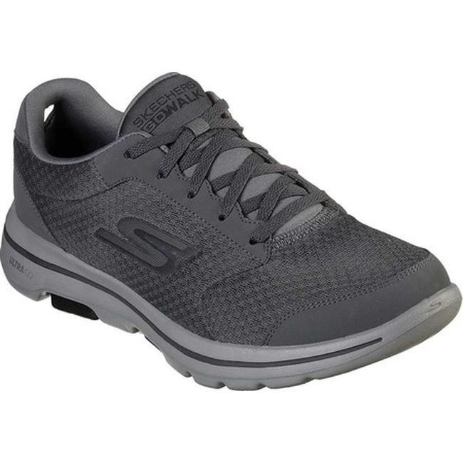Skechers Men's GOwalk 5 Qualify Walking Shoe CharcoalBlack