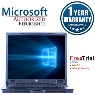"Refurbished HP Compaq NC6320 14.1"" Laptop Intel Core Duo T2300 1.66G 2G DDR2 80G DVD Win 7 Home Premium 32 1 Year Warranty"