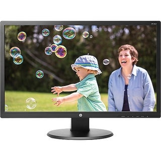 HP 24UH LED Backlit Monitor 1920x1080 10,000,000:1 HDMI DVI VGA-C Grade