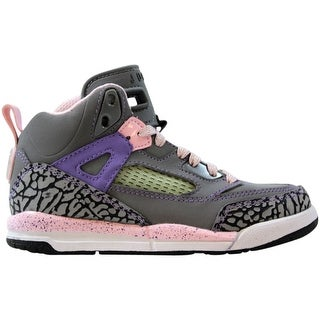 Nike Air Jordan Spizike Clay Grey/Liquid Pink-Purple Earth-White 535708-028 Pre-School Size 10.5Y