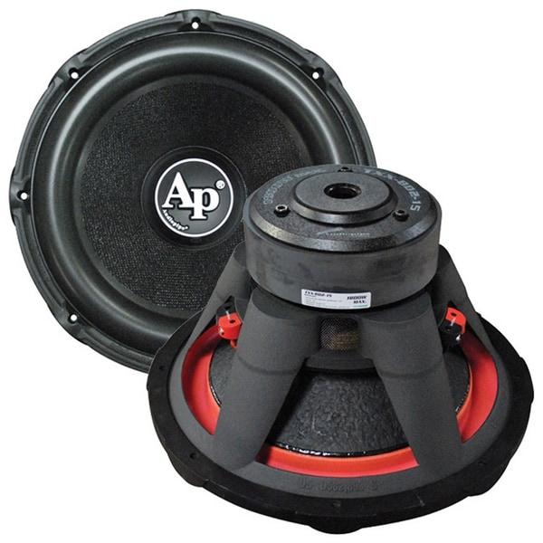 "Audiopipe 15"" Woofer 1800W Max 4 Ohm DVC"