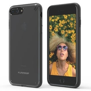 PureGear Slim Shell For iPhone 7 - Clear/Black
