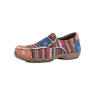 Roper Western Shoes Girls Johnnie Slip On Rubber