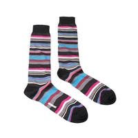 Missoni GM00CMU5235 0005 Gray/Pink Knee Length Socks - Grey