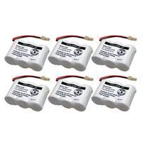 Replacement VTech CS5111 / CS2111 NiCd Cordless Phone Battery (6 Pack)