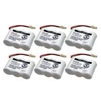 Replacement Battery For VTech 89-1338-00-00 / BT263345 Battery Models (6 Pack)