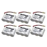 Replacement VTech CS5111-2 / BT27233 NiCd Cordless Phone Battery (6 Pack)