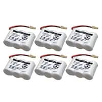 Replacement Battery For VTech CS5221 / CS5122-3 Phone Models (6 Pack)