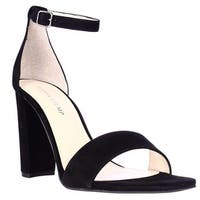Ivanka Trump Emalyn Ankle Strap Dress Sandals, Black