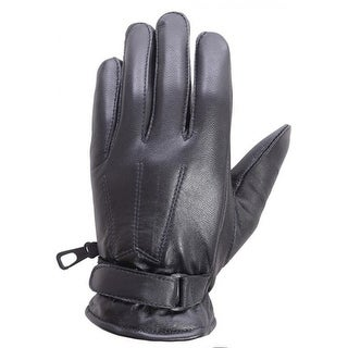 Link to Unisex Soft Lambskin Leather Winter, Driving, Dress Fashion Gloves Black FG5 Similar Items in Gloves