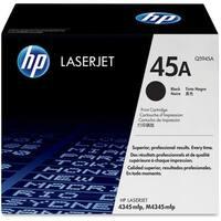 HP 49A Black Original LaserJet Toner Cartridge (Q5945A)(Single Pack)