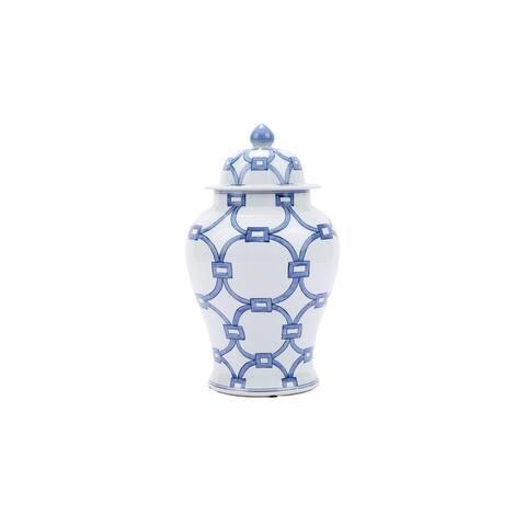 Lover Locks Temple Decorative Jar