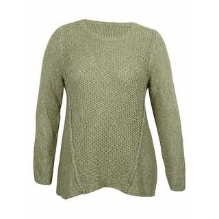 Calvin Klein Women's Birch-Seemed Knit Sweater
