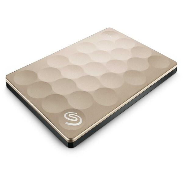 "Seagate 1 TB 5400 RPM External 2.5"" Hard Disk Drive (HDD)(Certified Refurbished) - 0.38 x 2.99 x 4.47"