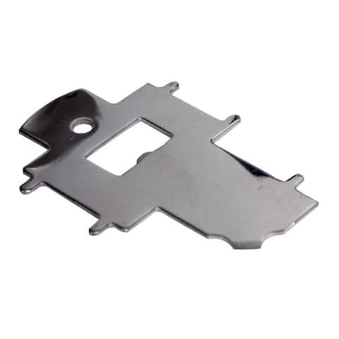 Whitecap deck plate key universal stainless