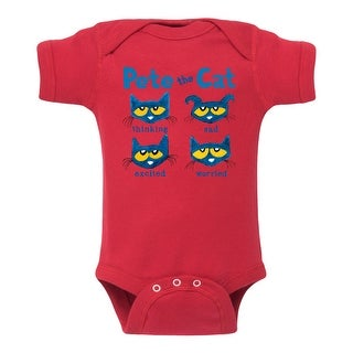Pete The Cat The Faces Of Pete - Infant One Piece