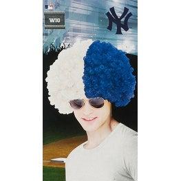 New York Yankees Wig Baseball Halloween Accessory
