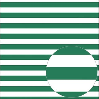 "Bazzill Printed Acetate Stripes Sheets 12""X12""-Bazzill Green"