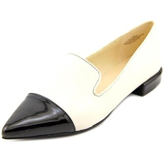 Nine West Trainer Women Pointed Toe Leather Flats