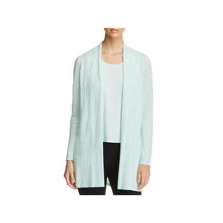 Eileen Fisher Womens Petites Cardigan Sweater Organic Long - pp/ps