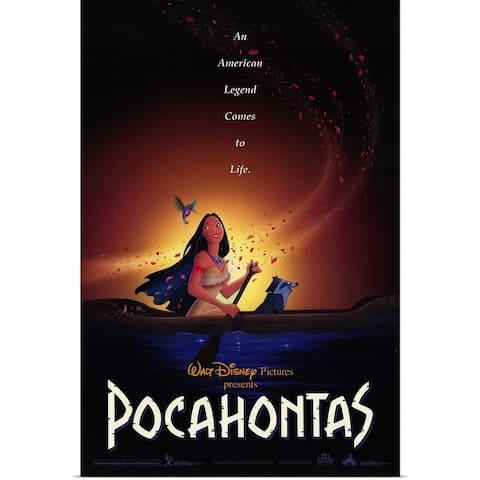 """Pocahontas (1995)"" Poster Print"