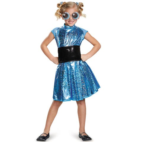 Disguise Bubbles Deluxe Child Costume - Blue/Black