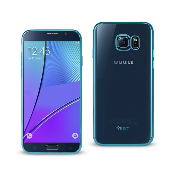 REIKO SAMSUNG GALAXY NOTE 5 FRAME CASE IN SHINY BLUE