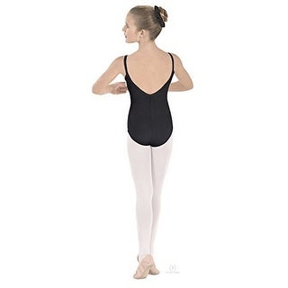 Eurotard Girls Camisole Leotard, Blk, Intermediate (3 options available)