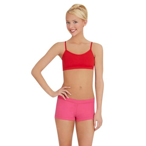 Lined Cami Bra Top with Adjustable Straps
