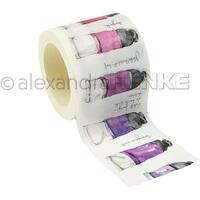 Color Tubes - Alexandra Renke Midori Washi Tape 40Mmx10m