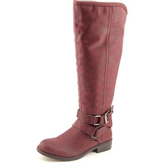 Madden Girl Corprl W Round Toe Synthetic Knee High Boot