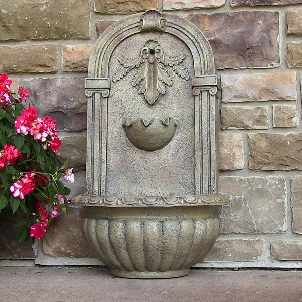 Sunnydaze Florence Outdoor Wall Fountain