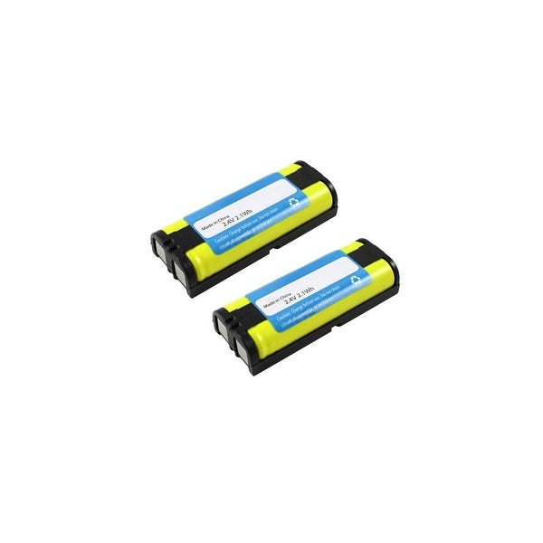 Replacement For Panasonic HHR-P105 Cordless Phone Battery (830mAh, 2.4v, NiMH) - 2 Pack