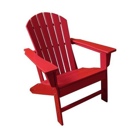Moda Classic Outdoor HDPE Resin Wood Adirondack Chair