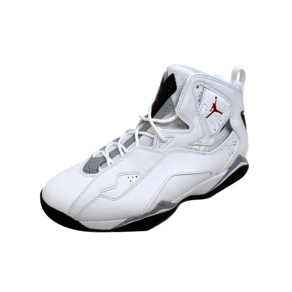 online store 72b9c 6e32e Nike Men  x27 s Air Jordan True Flight White Gym Red-Black